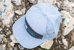 Pines to Palms 7 Panel Hat - Gray