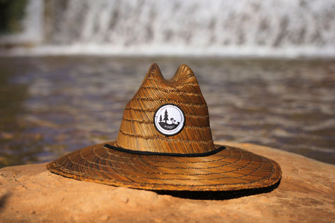 Pines To Palms Straw Hat