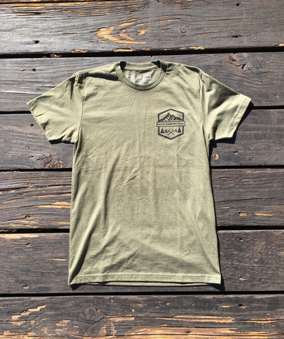 Mini Mountains - Military Green