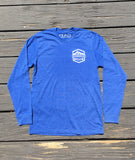 Mini Mountains Long Sleeve - Royal