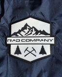 Rad Mountains Lightweight Windbreaker - Classic Navy / Saddle