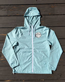 Rad Mountains Lightweight Windbreaker - Aqua