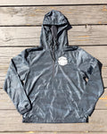 Rad Mountains Lightweight Pullover Anorak Windbreaker - Black Camo