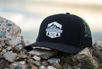 Rad Mountains Snapback Hat - Black
