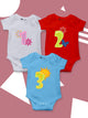 Set Of 12 Assorted Bodysuits For The Baby