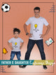 Full Customised T-Shirts for Father and Kid