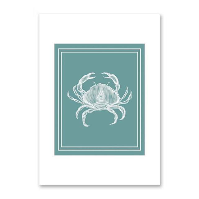 Vintage Coastal Wall Art Prints