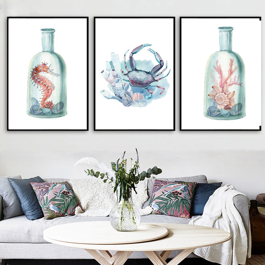 Nautical and Ocean-Themed Watercolor Prints