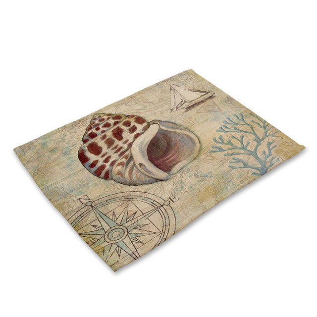Marine Sea Placemats