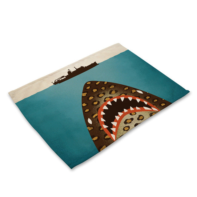 Ocean Life Handmade Placemats - Shark, Whale, Octopus, Turtle & More