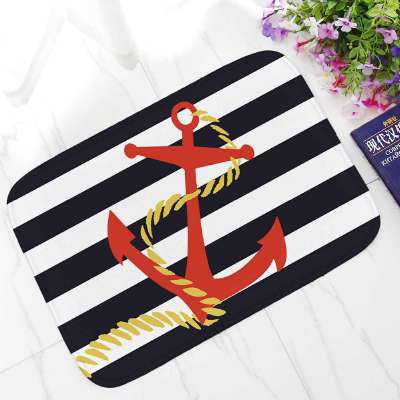 Anchor and Beach-Themed Doormats