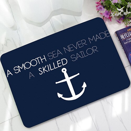Nautical Anchor Doormat