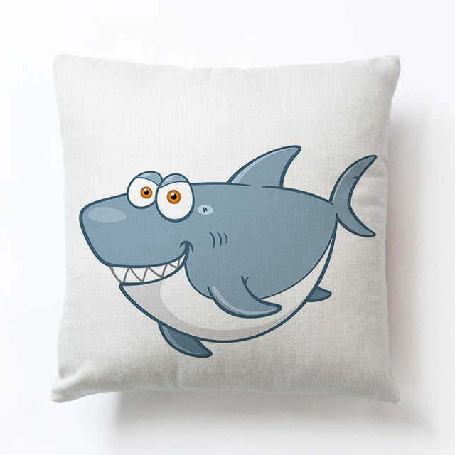 Watercolor Ocean Pillow Covers