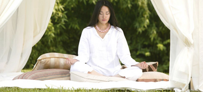 How to Create Your Peaceful Outdoor Meditation Space