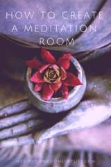how to create a meditaiton room