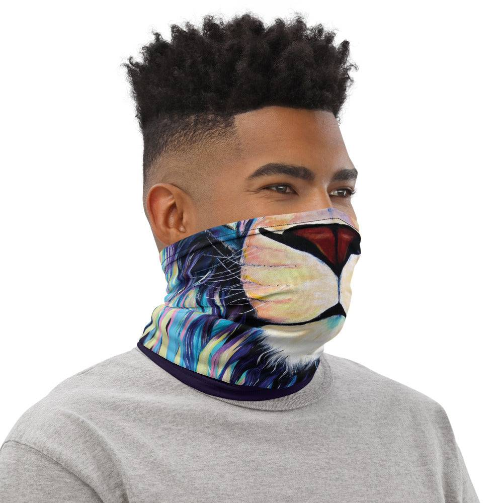 Lion Jungle King-  Neck Gaiter