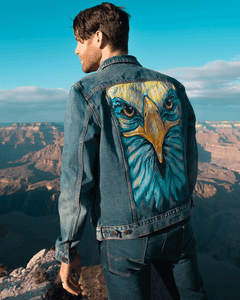 MEN'S CUSTOMIZED JEAN JACKET