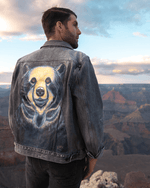 Load image into Gallery viewer, MEN'S CUSTOMIZED JEAN JACKET