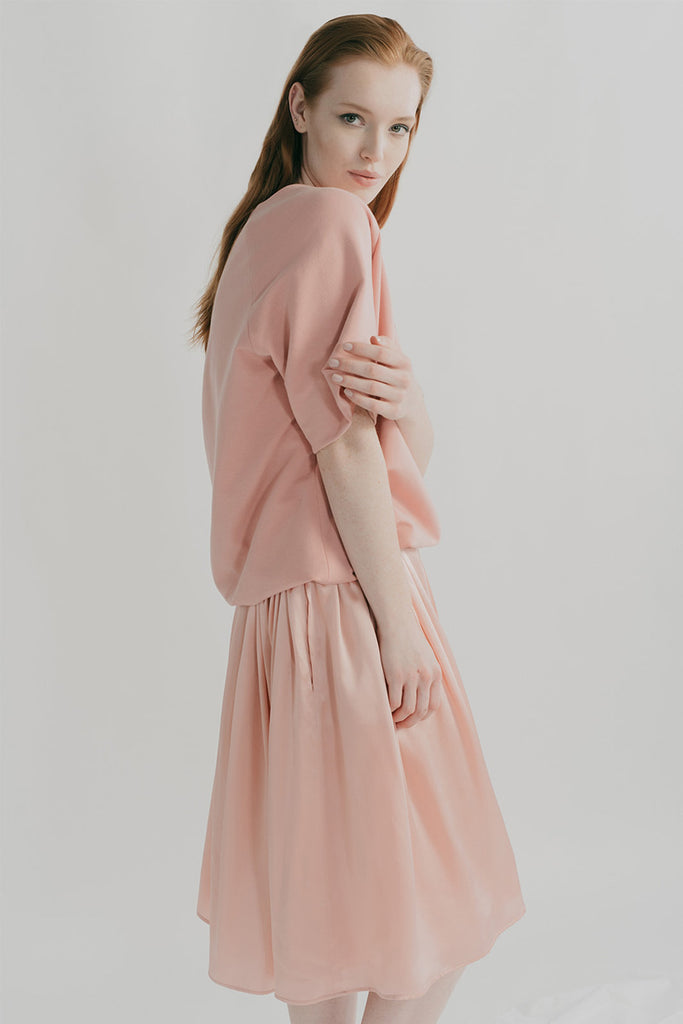 Pretty in pink, Misty top, and Kouka skirt