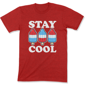 Stay Cool Popsicle USA Shirt