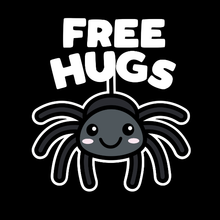 Load image into Gallery viewer, Free Hugs Kawaii Spider