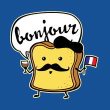 Load image into Gallery viewer, French Toast Cartoon Design