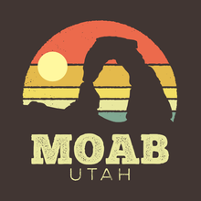 Load image into Gallery viewer, Moab Utah Vintage Sunset