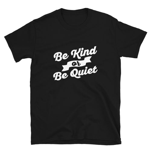 Be Kind or Be Quiet Funny Saying T-Shirt