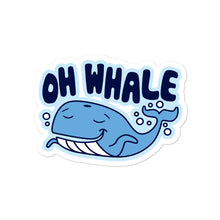 Load image into Gallery viewer, Oh Whale Sticker