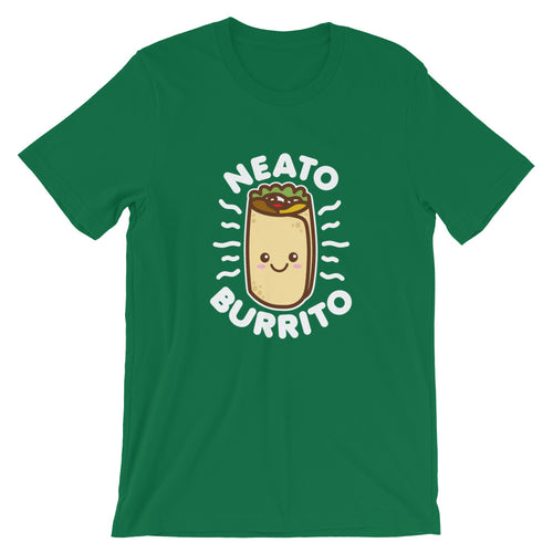 Neato Burrito Food Pun Cute Kawaii T-Shirt
