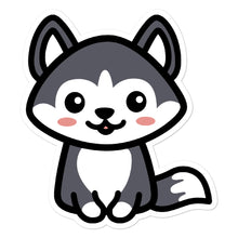 Load image into Gallery viewer, Cute Kawaii Husky Dog Lovers Stickers