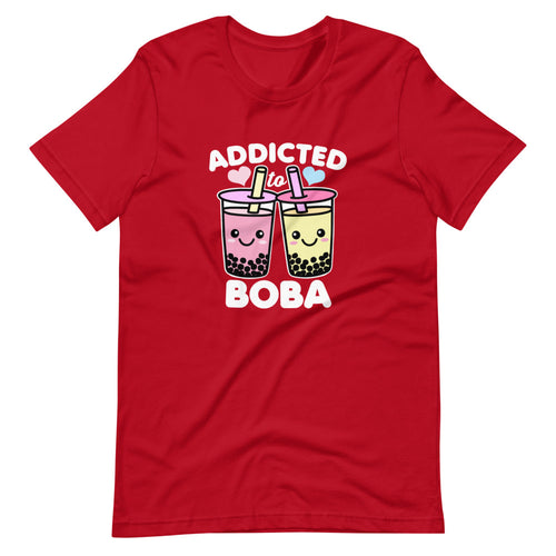 Addicted to Boba Cute Kawaii T-Shirt