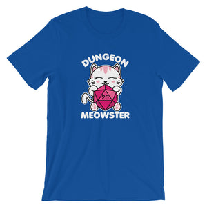 Dungeon Meowster Cute Kawaii Cat Gamer T-Shirt
