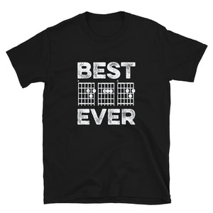 Best Dad Ever Guitar Chords Father's Day Gift T-Shirt