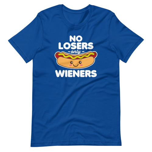 No Losers only Wieners Hot Dog Kawaii T-Shirt