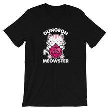Load image into Gallery viewer, Dungeon Meowster Cute Kawaii Cat Gamer T-Shirt