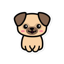 Load image into Gallery viewer, Cute Kawaii Pug Dog Lovers Stickers