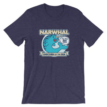 Load image into Gallery viewer, Narwhal Unicorn of the Sea T-Shirt
