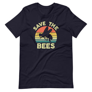 Save the Bees Vintage Sunset T-Shirt