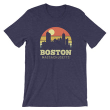 Load image into Gallery viewer, Boston Massachusetts Vintage Sunset Shirt