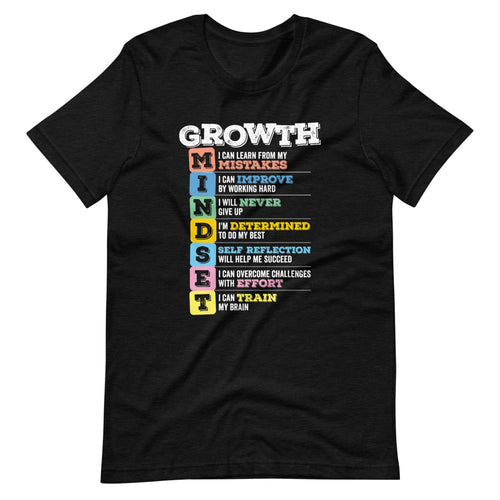Growth Mindset Learn Improve Grow T-Shirt