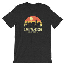 Load image into Gallery viewer, San Francisco California Vintage Sunset Retro T-Shirt