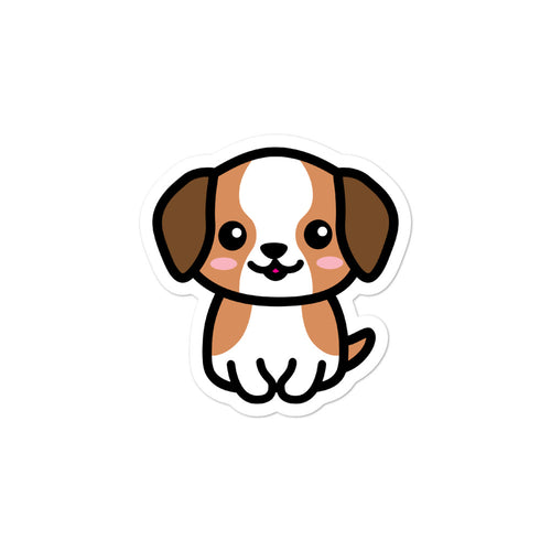 Cute Kawaii Beagle Dog Lover Stickers