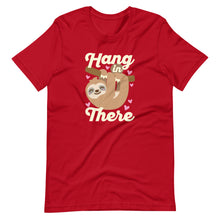 Load image into Gallery viewer, Hang In There Sloth Kawaii T-Shirt