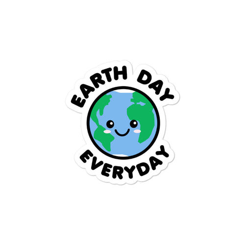 Earth Day Everyday Cute Kawaii Stickers