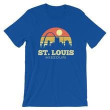 Load image into Gallery viewer, St Louis Missouri Vintage Sunset Shirt