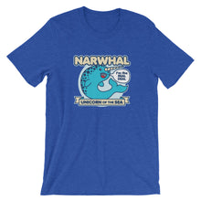 Load image into Gallery viewer, Narwhal Unicorn of the Sea Shirt