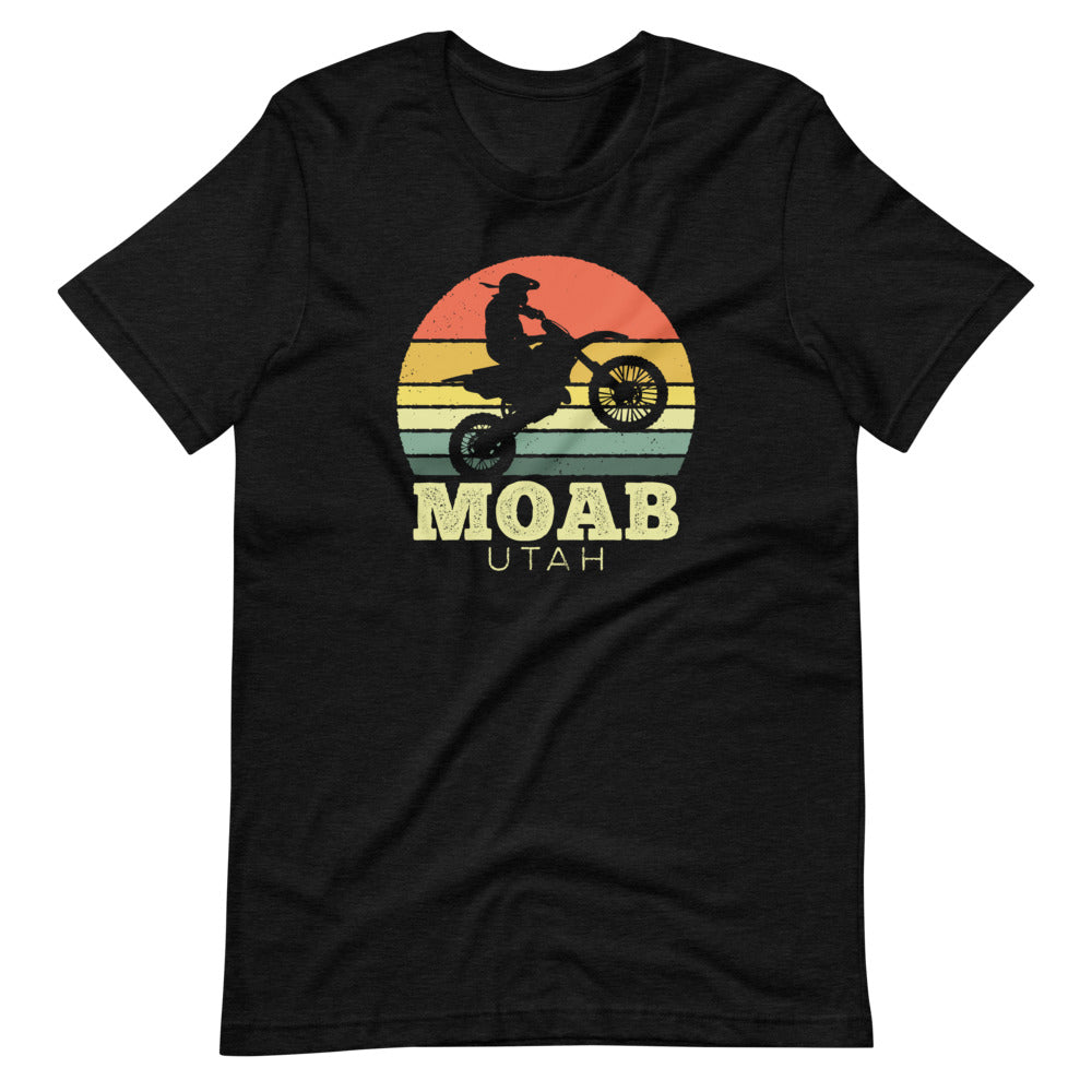 Moab Utah Dirt Bike Shirt