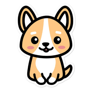 Cute Kawaii Corgi Dog Lovers Stickers
