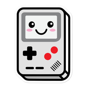 Cute Kawaii 80s Portable Video Game Stickers